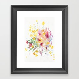 fiori I Framed Art Print
