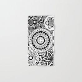 Mandalas in a lace Hand & Bath Towel