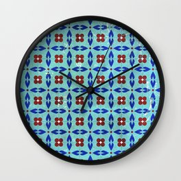 traditional tiles Wall Clock