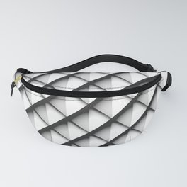 Light Metal Scales Fanny Pack