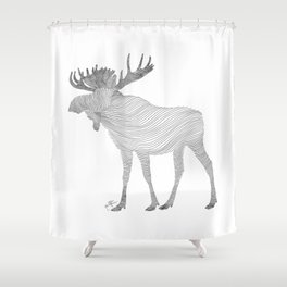 Elk Theraphy Shower Curtain