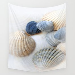 Just Sea Shells Wall Tapestry
