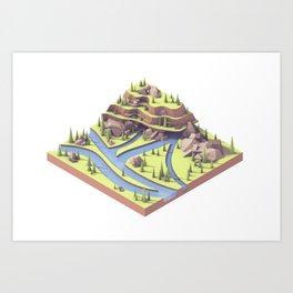 Riverways Art Print
