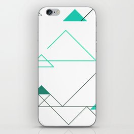 Tree Angle Green iPhone Skin