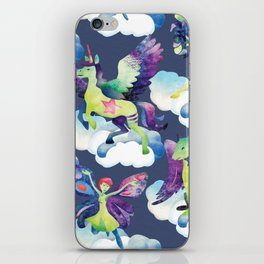 Fly into my dreams iPhone Skin
