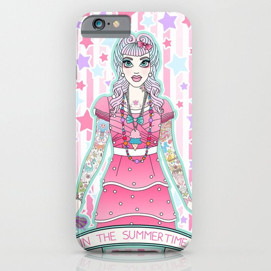 In The Summertime iPhone & iPod Case