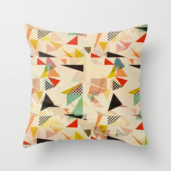 Types Of Decorative Pillow Shapes : between shapes Throw Pillow by SpinL Society6