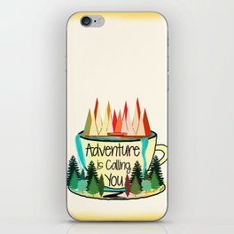 Adventure is Calling You iPhone Skin