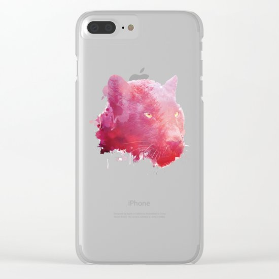 Blush Clear iPhone Case