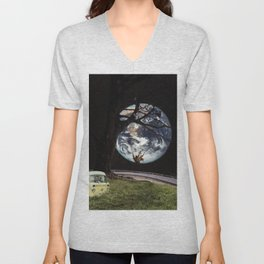 Memories within a journey Unisex V-Neck
