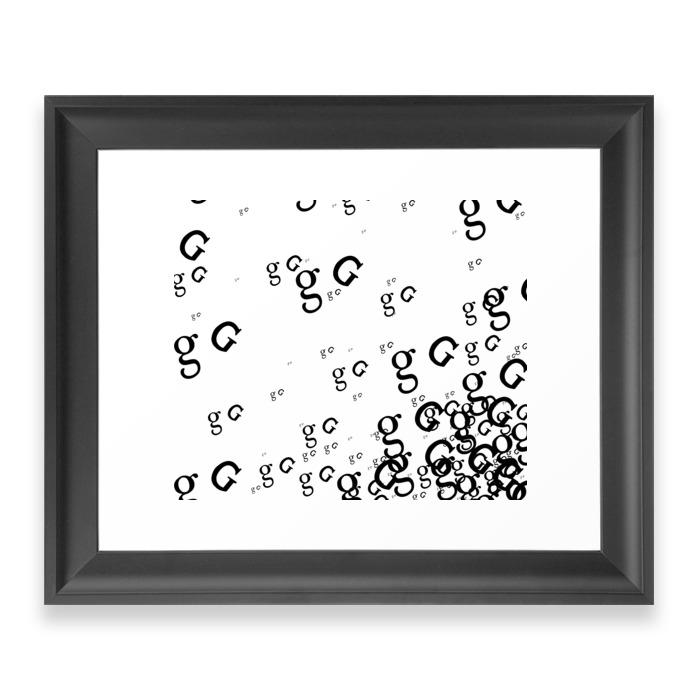 G-G-G-GO Framed Art Print by amygolem