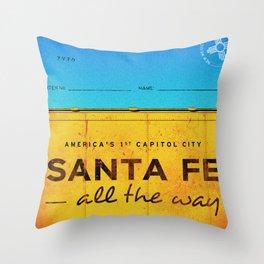 Santa Fe Throw Pillow