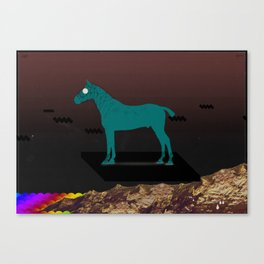 Hover Canvas Print