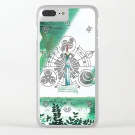 Zelda Sword Shine Clear iPhone Case