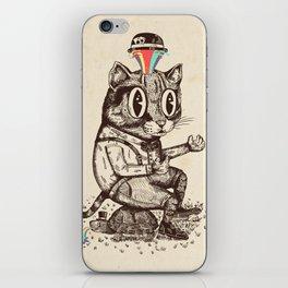 Strange Cat iPhone Skin