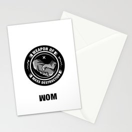 Weapon of Mass destruction Stationery Cards