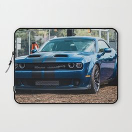 Sea Blue Challenger SRT Redeye Hellcat Demon Widebody Laptop Sleeve