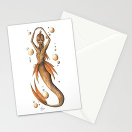 Mermaid 10 Stationery Cards