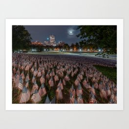 Memorial Day Boston 2018 Art Print