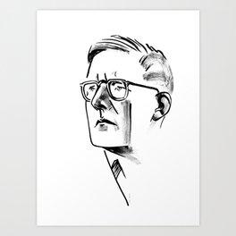 Shostakovich Art Print