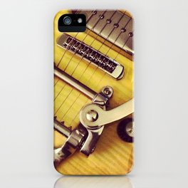 Wild Nights - Guitar iPhone Case