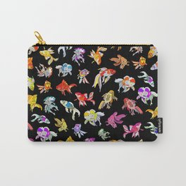 Electric Neon Black Aquarium Carry-All Pouch
