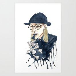 Chessman Art Print