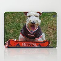 cleveland iPad Cases featuring Cleveland Fan by Photography by Michiale