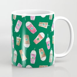 Coffee Crazy Toss in Green Coffee Mug