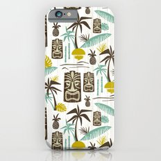 Island Tiki - White iPhone 6 Slim Case