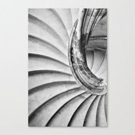 Sand stone spiral staircase 15 Canvas Print