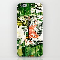 posters iPhone & iPod Skins featuring posters 2 by Renee Ansell