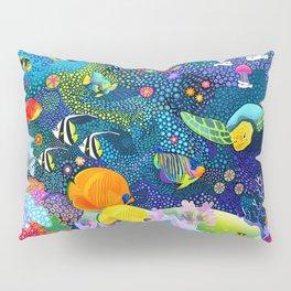 Ocean Tropical Fish Life Pillow Sham