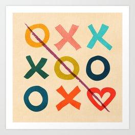 xoxo Love Kunstdrucke