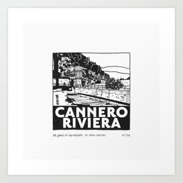 Cannero Riviera Art Print