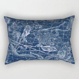 Pisces sky star map Rectangular Pillow