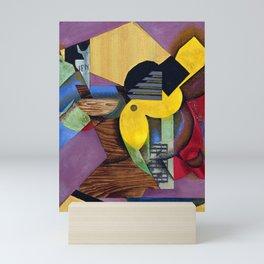 """Juan Gris """"Guitar"""" Mini Art Print"""