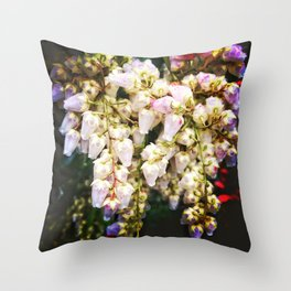 Japaese Andromeda, Seattle Throw Pillow