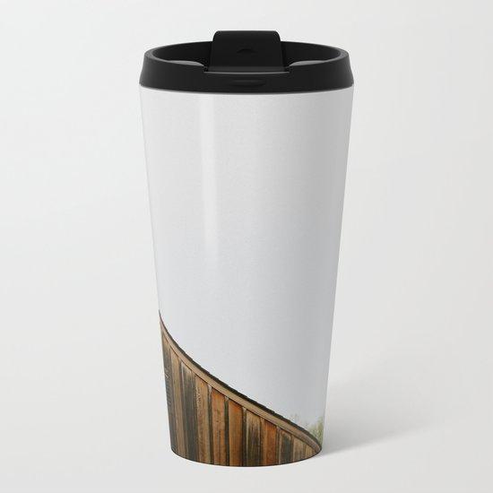 Cabin Season Metal Travel Mug