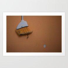 Broom Art Print