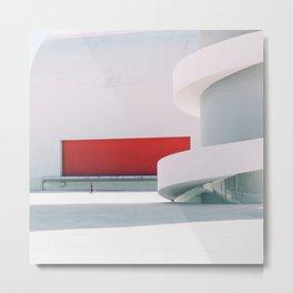 Niemeyer Metal Print