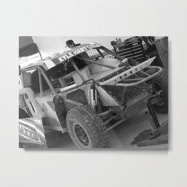 Track Noir TORC #6 Metal Print