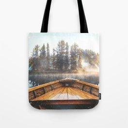 Canoe in the Lake Tote Bag