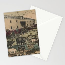 Vintage Illustration of Noahs Ark (1907) Stationery Cards