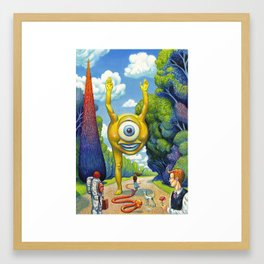 Appointment to the Park Framed Art Print