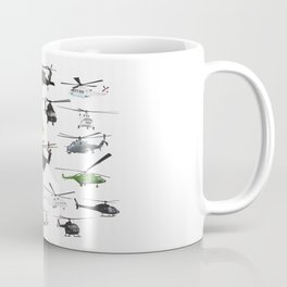 Multiple Helicopters Coffee Mug