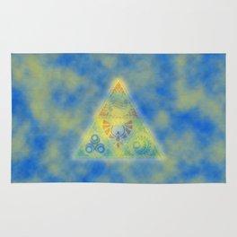 Zelda Triangle Triforce Rug