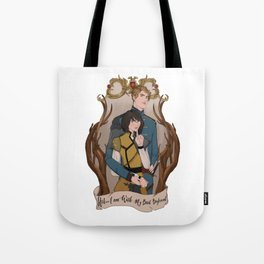 Book Boyfriend and me Tote Bag