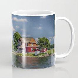 Rock Island Light - Clayton, NY Coffee Mug