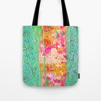 honeycomb Tote Bags featuring Honeycomb by Ingrid Padilla